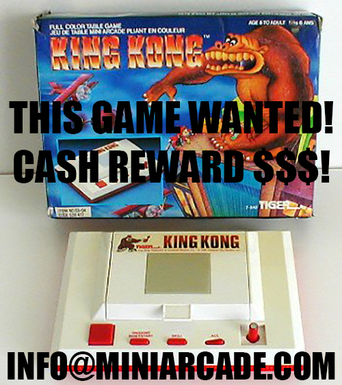 Tiger King Kong Full Color Table Game Flip Top Lid Orlitronic Virca