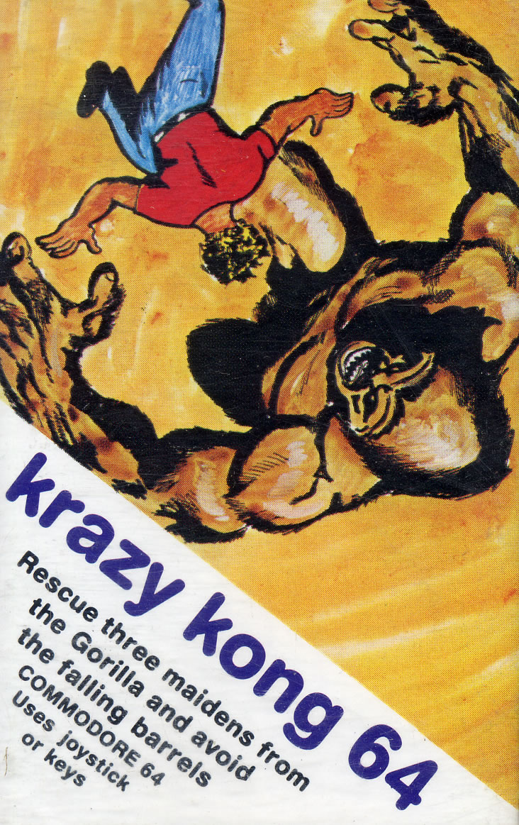 Krazy Kong 64 for Commodore 64