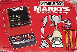 Mario S Cement Factory Tabletop